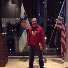 Photo taken at Embassy of the Republic of Finland by Peter V. on 12/6/2013