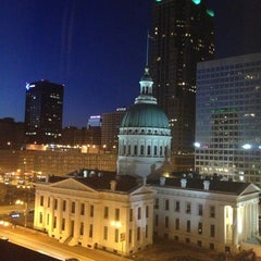 Photo taken at Drury Plaza Hotel - St. Louis at the Arch by Honor W. on 2/17/2013