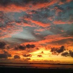 Photo taken at Caloosahatchee Bridge by Alli B. on 10/6/2014