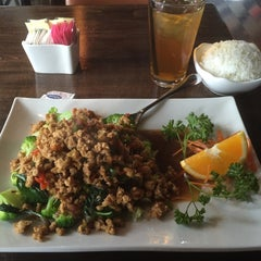Photo taken at Thai Orchids Asian Bistro by Sandy C. on 4/28/2015