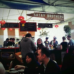 Photo taken at Satay Brothers by Mike L. on 5/20/2013