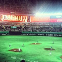 Photo taken at 福岡ヤフオク!ドーム (Fukuoka Yafuoku! Dome) by Taisuke F. on 5/22/2013