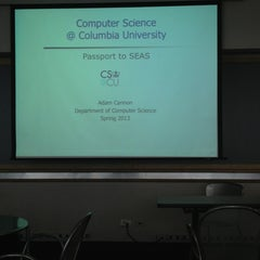 Photo taken at Computer Science Lounge - Columbia University by Joshua on 2/22/2013