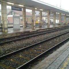 Photo taken at Stazione Chivasso by Alle C. on 1/28/2013