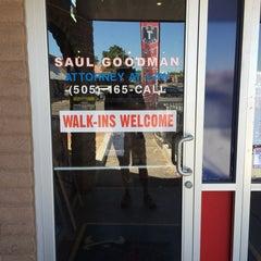 Photo taken at Saul Goodman's Office by Joe G. on 7/26/2015