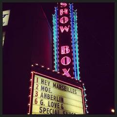 Photo taken at The Showbox by Jen J. on 3/2/2013