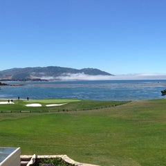 Photo taken at Pebble Beach Golf Links by TomMi on 6/29/2013