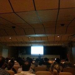 Photo taken at Fecomércio by Daniel Vinicius S. on 5/19/2015