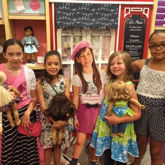 Photo taken at American Girl Boutique & Bistro by Salimah L. on 6/13/2015