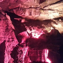 Photo taken at Howe Caverns by Brian P. on 6/10/2013