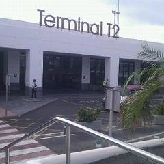 Photo taken at Terminal 2 Aeropuerto de Lanzarote (ACE) by Roberto A. on 9/18/2012
