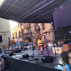 Photo taken at Plaça de la Vila by Abigail B. on 7/5/2013