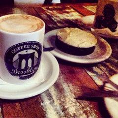 Photo taken at Brooklyn Coffee Shop by Felipe F. on 7/15/2013