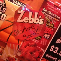 Photo taken at Zebbs Bar And Grill by Tasha P. on 2/22/2013