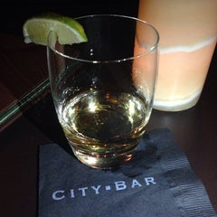 Photo taken at City Bar by Nadina on 10/13/2014