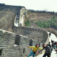 Photo taken at 慕田峪长城 Great Wall at Mutianyu by Sherly H. on 4/1/2012
