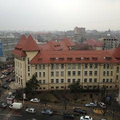 "Photo taken at Colegiul Național ""Iulia Hasdeu"" by Ahmad K. on 2/20/2013"