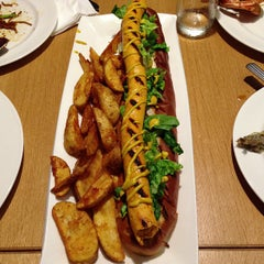 Photo taken at Senses Restaurant by Joshua C. on 6/7/2013