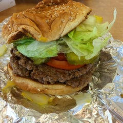 Photo taken at Five Guys by Dave R. on 9/18/2014