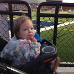 Photo taken at Memorial Field EGR Stadium by A R. on 9/26/2014