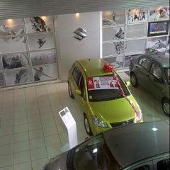 Photo taken at Dercocenter Suzuki by Sebastián O. on 11/22/2012