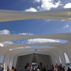 Photo taken at USS Arizona Memorial by rafaneves on 1/20/2013