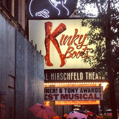 Photo taken at Kinky Boots at the Al Hirschfeld Theatre by Darwin D. on 6/28/2013
