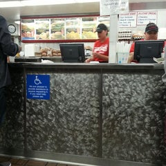 Photo taken at Fabulous Charbroiled Burgers #1 by Dre T. on 11/16/2013