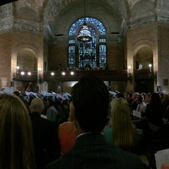 Photo taken at St. Paul's Chapel - Columbia University by Madeline A. on 5/18/2014