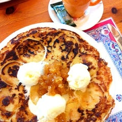 Photo taken at The Pancake Corner by Nathalie S. on 12/1/2012