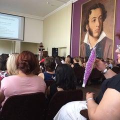 Photo taken at #8 Pushkin School by Stella A. on 9/9/2014