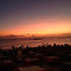 Photo taken at Jimbaran Beach Cafe by Manfred B. on 6/16/2015