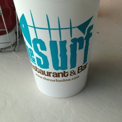 Photo taken at The Surf Restaurant & Bar by Holly W. on 3/22/2013