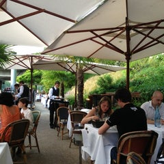 Photo taken at River Café by Christophe R. on 7/6/2013