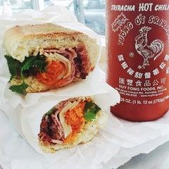 Photo taken at Saigon Vietnamese Sandwich Deli by Jen B. on 6/11/2014