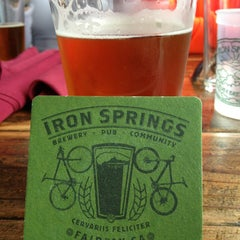 Photo taken at Iron Springs Pub & Brewery by Jason O. on 8/17/2013