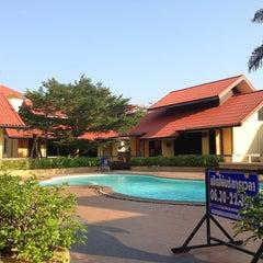 Photo taken at Thanisa Resort by manop p. on 4/9/2013
