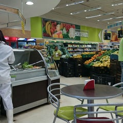 Photo taken at Carrefour Bairro by Ursula P. on 7/23/2014