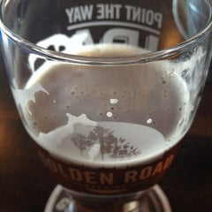 Photo taken at Golden Road Brewing by Gabe R. on 11/24/2012