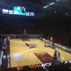 Photo taken at Cassell Coliseum by Donna W. on 12/28/2014