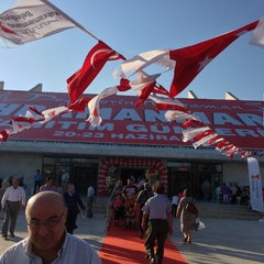 Photo taken at Atatürk Kültür Merkezi by Emine K. on 6/21/2013
