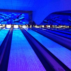 Photo taken at Cosmic Bowling by Beste T. on 3/16/2013
