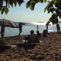 Photo taken at Pinar Otel beach club by Serkan M. on 8/30/2015