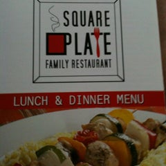 Photo taken at Square Plate Family Restaurant by Theresa S. on 3/24/2012
