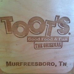 Photo taken at Toot's Good Food & Fun by Angela M. on 6/11/2013