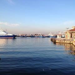 Photo taken at İDO Bostancı Deniz Otobüsü İskelesi by Fatih E. on 4/12/2013