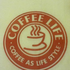 Photo taken at Coffee Life by Alina R. on 2/25/2013