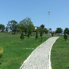 Photo taken at Yenikent Park by Yasin Y. on 5/18/2013