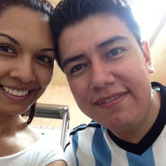 Photo taken at Tacos El Güero Transito by Erika P. on 8/1/2014