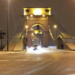 Photo taken at Pont du Port à l'Anglais by Maxime L. on 3/12/2013